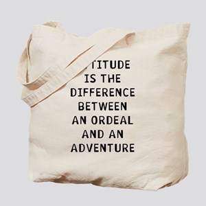 Attitude Difference Tote Bag