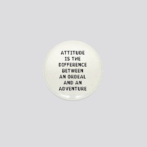 Attitude Difference Mini Button