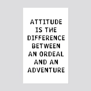 Attitude Difference Sticker (Rectangle)