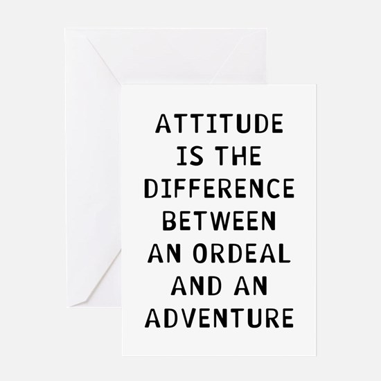 Attitude Greeting Card