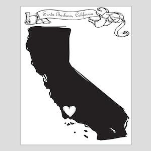 Santa Barbara Small Poster