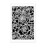 Rose Flower Power Mini Poster Print