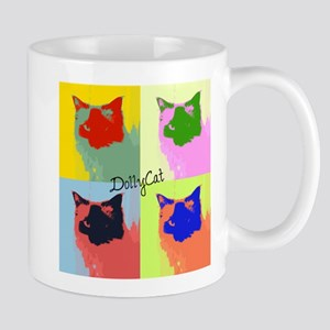 DollyCat Pop Art - Ragdoll Cat - Mug