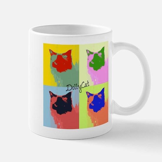 DollyCat Pop Art - Ragdoll Cat - Mug