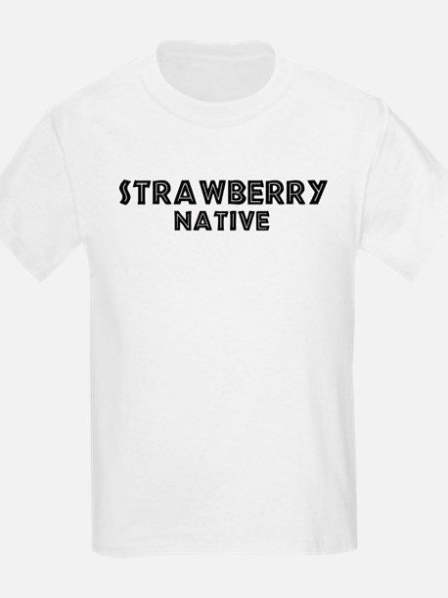 Strawberry Native Kids T-Shirt