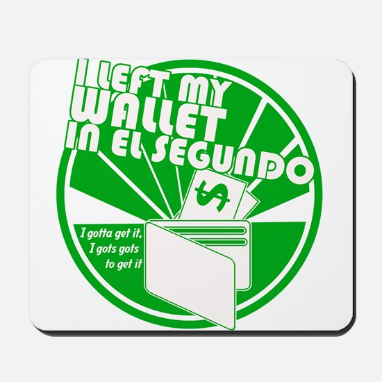 El Segundo Green Mousepad