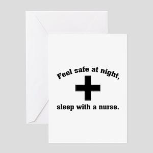 Feel safe at night, sleep with a nurse. Greeting C