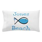 Jones Beach Pillow Case