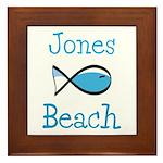 Jones Beach Framed Tile