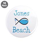 """Jones Beach 3.5"""" Button (10 Pack)"""