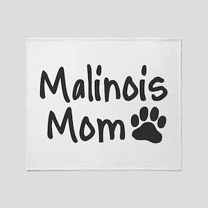 Malinois MOM Throw Blanket
