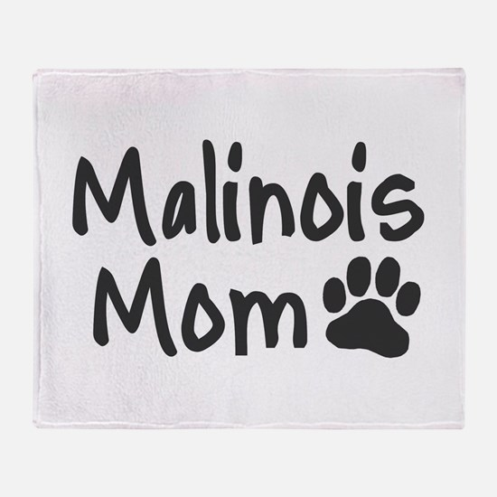 Malinois MOM Throw Blanket