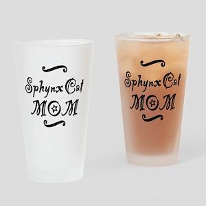 Sphynx Cat MOM Drinking Glass