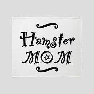 Hamster MOM Throw Blanket