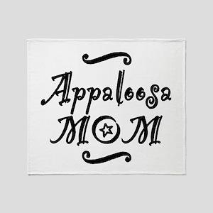 Appaloosa MOM Throw Blanket
