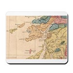 Mousepad with MacLean Map