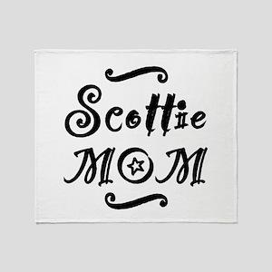 Scottie MOM Throw Blanket