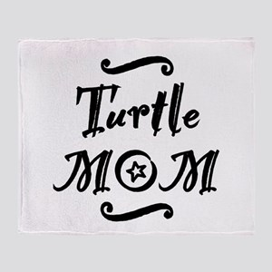 Turtle MOM Throw Blanket