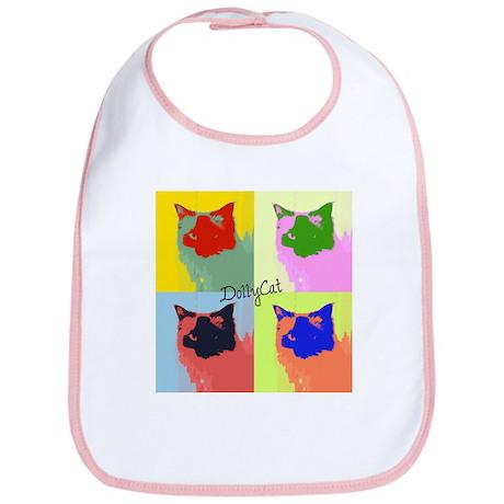 DollyCat Pop Art - Ragdoll Cat - Bib