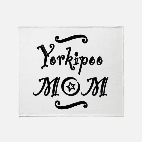 Yorkipoo MOM Throw Blanket