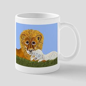 Lion And Lamb Mug