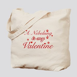 A Nebelung is my valentine Tote Bag
