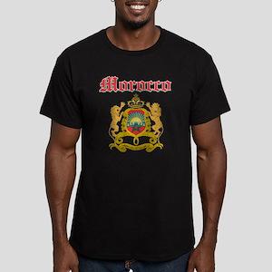 Morocco designs Men's Fitted T-Shirt (dark)