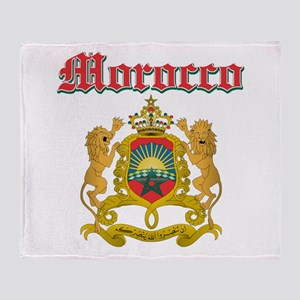 Morocco designs Throw Blanket