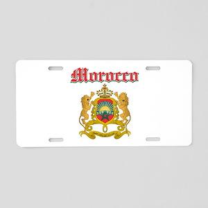 Morocco designs Aluminum License Plate
