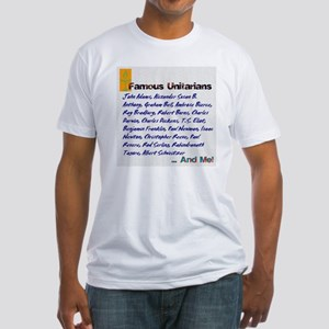 Unitarian 4 Fitted T-Shirt