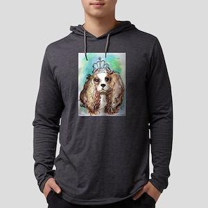 Princess, cute, dog, art! Mens Hooded Shirt