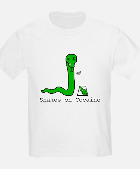 Snakes on Cocaine Kids T-Shirt
