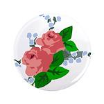 Vintage English Pink Roses 3.5