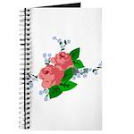 Vintage English Pink Roses Journal
