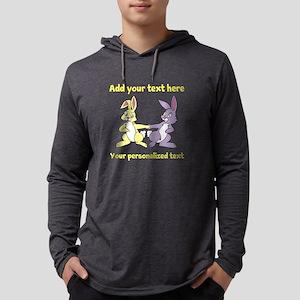 Bunnies Mens Hooded Shirt