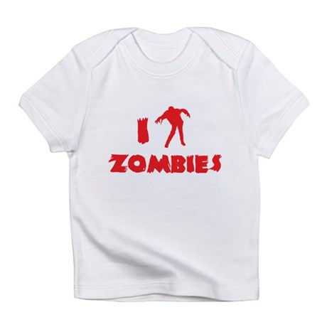 I Love Zombies Infant T-Shirt