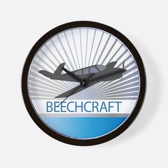Aircraft Beechcraft Wall Clock
