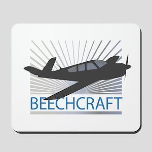Aircraft Beechcraft Mousepad