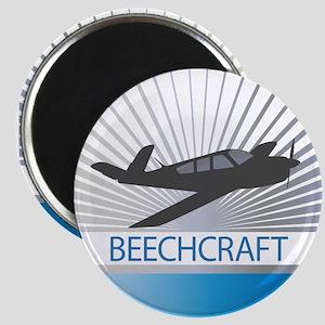 Aircraft Beechcraft Magnet