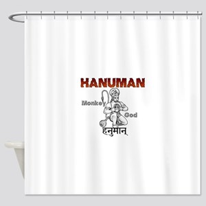 Hindu Hanuman Shower Curtain
