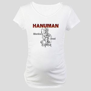 Hindu Hanuman Maternity T-Shirt