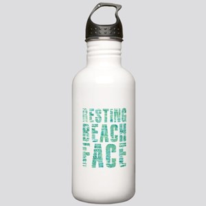 Resting Beach Face Pri Stainless Water Bottle 1.0L