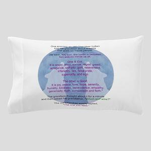 Wolf Wisdom Pillow Case