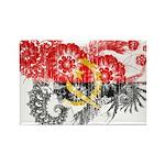Angola Flag Rectangle Magnet (10 pack)
