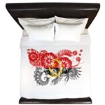 Angola Flag King Duvet