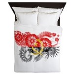 Angola Flag Queen Duvet