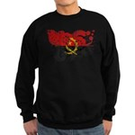 Angola Flag Sweatshirt (dark)