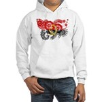 Angola Flag Hooded Sweatshirt