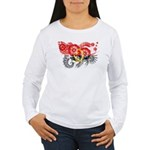Angola Flag Women's Long Sleeve T-Shirt