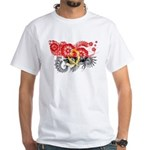 Angola Flag White T-Shirt